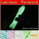 20FT 6 Meters Glow In The Dark Nylon Paracord 550LB 9Strands Survival Luminous Parachute C