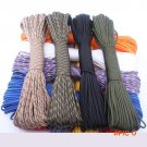 Random Send 50FT,25FT Paracord 550 Rope Type III 7 Stand Paracord Parachute Cord Outdoor C