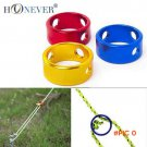 10pcs Tent Wind Rope Round Regulating Buckle Camping Cord Tensioners Outdoor Canopy Adjust