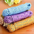 10m 33ft Outdoor Travel Camping Picnic Quilt Blanket Clothes Line Rope Clothesline 6mm Thi