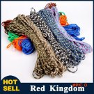 100FT(32m) Paracord 550 Paracord Parachute Cord Lanyard Rope Mil Spec Type III 7Strand For