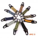 EDC Paracord Rope Keychain Outdoor Camping Survival Kit Military Parachute Cord Emergency
