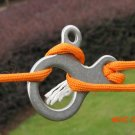 Multifunctional Stainless Steel Paracord Buckle Camping Quick Fast Knot Rope Buckle Tool O