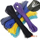 100Meter Paracord 550 Paracord Parachute Cord Lanyard Rope Mil Spec Type III 7Strand Climb