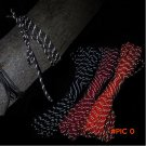 Night Reflective Outdoor Emergency Paracord Military 550 Parachute Cord 7 cores 4mm Paraco