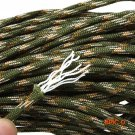 12 colors Paracord 550 Paracord Parachute Cord Lanyard Rope Mil Spec Type III 7Strand 100F