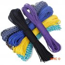 30 Meters Dia. 4mm one stand Cores Paracord for Survival Parachute Cord Lanyard Camping Cl