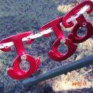 3Pcs Outdoor Camping Climbing Hiking T Shape Aluminum Alloy Self-locking Carabiner Hook Ro