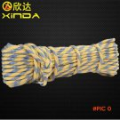 15M Professional Outdoor Rock Climbing Rope Camping Emergency EDC Survival Ropes Aerial He