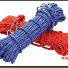 10mm*20m outdoor climbing gear ropes climbing rope climbing downhill safety rope climbing