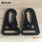 20Pcs HK Sling Clips Quick Release Spring Carabiner Snap Hook Strap Rifle EDC Keychain Buc