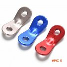 1PC Camping Hiking Tightening Hook Tent Wind Rope Buckle Camping Cord Outdoor Binoculus Ha