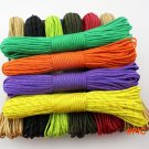 Rainbow Paracord 550 Paracord Parachute Cord Lanyard Rope  Climbing Camping /Mil Spec Type