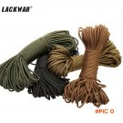 30M/bag Outdoor Equipment Rope Climbing Parachute Cord Lanyard Rope Escape Rescue Rope Cli