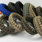 10pcs/lot Outdoor Camping Paracord Parachute Cord Emergency Survival Bracelet Rope with me