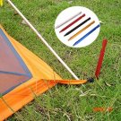 18cm Tri Tent Nails Tent Peg Floor Nail Aluminium Alloy Tent Stake Rope Outdoor Camping Eq