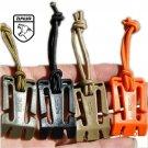 Amur Brand 10 pcs/set  4.5 cm*2.7 cm Camping Hiking Backpack Buckle Kit MOLLE Elastic Belt