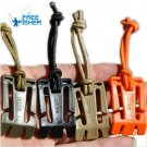 Freefisher Brand 10 pcs/set MOLLE Elastic Belt Rope Webbing Buckle Camping Hiking Backpack