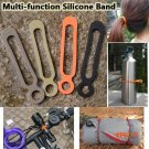 2016 New 4 Colors Outdoor Portable Tool Multipurpose Ties Leggings Puttee Rope Camping Mul