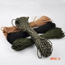 Super Strong Military Standard 550 Paracord 7 Core 4mm Parachute Cord for DIY Tent Knife B