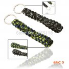 2 Pcs Survival Kit Military Paracord Rope Keychain Outdoor Camping Equipment Emergency Nyl