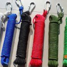 20 M Outdoor Safety Escape Rope, 8mm Rope Camping, Travel Essential Climbing Rope,20m Para