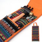 Good Quality Outdoor Camping Hammer Tent Wind Rope Tent Pegs Nail Storage Bag Accessories