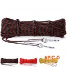 NEW High Quality 10M Paracord Outdoor Rock Climbing Hiking Safety Rope 8mm Diameter 9KN Hi