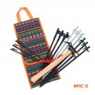 1PC Outdoor Camping Tent Accessories Hammer Wind Rope Tent Pegs Nail Storage Bag BC1472