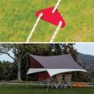Aluminum Tent Rope Buckle Ourdoor Camping Umbrella Tent Buckle Pull Rope Wind Rope Buckle