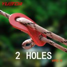 Brand YUETOR 10pcs/lot aluminum alloy antiskid adjust wind rope buckle for outdoor camping