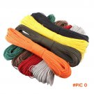 50 Meters Dia. 2mm one stand Cores Paracord for Survival Parachute Cord Lanyard Camping Cl