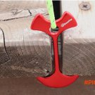 4pcs  Lengthen Floor Nail Camp Wind Rope Tent Peg Path Deck Anchor Chains Linked Bone Nail