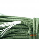 E0443 31m Parachute Rope 8 Core 4mm Camping Equipment Tent Rope Army Green wholesale 31M/LOT BC1791
