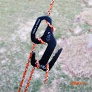 2016 new Tent hooks 9 Shape Rope Tightener Tie Down Strap Tool Camping Tent Rope Buckle f