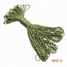 Camping Umbrella Rope 7 Core Strand 100FT Paracord For Parachute Cord Risers Bracelet Surv