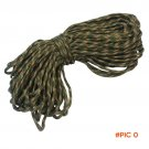1 Pcs Durable 31m 7 Core Nylon Rope Strand Paracord For Outdoor Activities Camping Hiking
