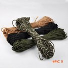 4 colors Paracord 550 Paracord Parachute Cord Lanyard Rope Mil Spec Type III 7Strand 100FT