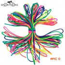 Lixada Parachute Cord Rainbow-colored Outdoor Emergency Rope 7 Strand Parachute Cord for C