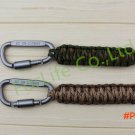 Free Shipping paracord keychain Gear Buckle outdoor Camping survival Equipment rescue rope