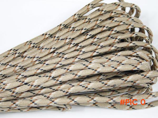 550 Paracord Parachute Cord Lanyard Rope Mil Spec Type III 7 Strand100FT FREE SHIPPING Cli