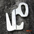 Outdoor camping Rope buckle Aluminum Alloy Knot Medium-sized 9 Letter buckle for 3-9mm rop
