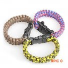 Hot Sell Various Style Umbrella Emergency Survival Bracelet Rope Disaster Escape Rope for