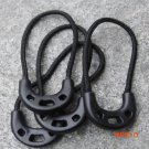 10PCS/Lot Series burglar costumes and tail rope zipper bag  easy to use black rope Anti-Th