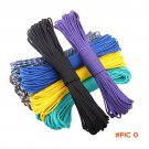 50FT New Colors Paracord 550 Paracord Parachute Cord Lanyard Rope Mil Spec Type III 7 Stra