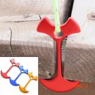 3 Colors 1 PC Tent Floor Nail Outdoor Fiestas Wedding Party Tent Peg Path Camp Wind Rope A