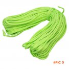 High Quality 100FT Paracord Parachute Cord Rope Lanyard 7 Strand Core Climbing Camping sur
