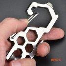 Wholesale Climbing Carabiner Travel Bottle Opener Spanner Rope Cutter Outdoor EDC Carabine