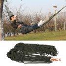 Portable Nylon Rope Outdoor Swing Fabric Camping Hanging Hammock Canvas Bed 43bp BC2370