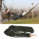 Pro Portable Nylon Rope Outdoor Swing Fabric Camping Hanging Hammock Canvas Bed 1 Pc BC2382
